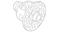 Genuine Nissan Differential Carrier 38420-ca00a