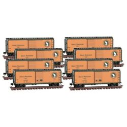 N Scale Mtl Micro-trains 993 00 820 Gn Great Northern 40' Standard Boxcar 8-pack