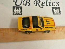 Chevy Camaro Z28 Pennzoil 8 Yellow/black Tyco 440x2 Chassis Ho Scale Slot Car