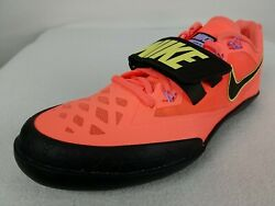 Nike Zoom Sd Throwing Shoes Menand039s 9.5-13 Orange Black Track And Field 685135-800