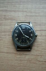 Rare Military Watch Zenith Dh For The German Army Ww2 Wehrmacht