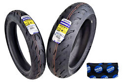 Michelin Pilot Power 5 120/70zr17 F 200/55zr17 R Radial Motorcycle Tires Set
