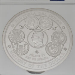 2017 M 1kilo Ngc Pf69 Spain S 300euro History Of The Dollar First Year 436/1000