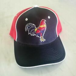 Fowl Rooster Chicken Cock Farm Game American Mexico Mexican Adjustable Cap Hat