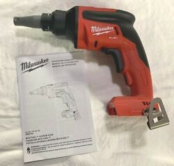 Milwaukee M18 Fuel 2866-20 Drywall Screwgun Brushless Drill -18v Tool Only New