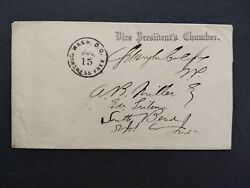 Free Frank Schuyler Colfax 1869-1873 Vice President Under Grant Cover