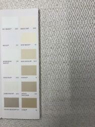 Holland And Sherry / Papillon Pearl Fabric Curtain Upholstery 1.5 Meters A247