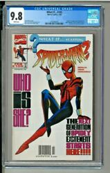 What If... 105 - Cgc 9.8 - Newsstand - Origin And 1st Appearance Of Spider-girl