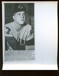 June 1 1964 Sam Mcdowell Cleveland Indians Gets Another Chance 8 X 10 Wire Photo
