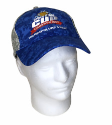 Lowes Store Cup Baseball Cap Truckers Hat Adjustable Blue/camo Green And Gray
