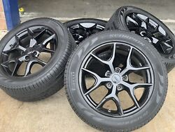 20 Oem Jeep Grand Cherokee Limited X Set Wheels Rims Plus Brand New Tires