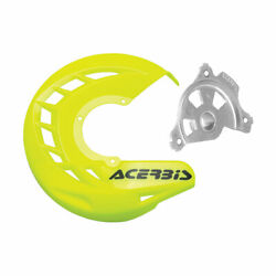 Acerbis X-brake Front Disc Cover With Mounting Kit Flo Yellow
