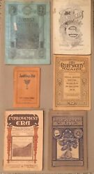 Juvenile Instructor, Various Other Illustrated Antique Lds Mormon Magazines, Lot