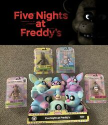 Five Nights At Freddyand039s Fnaf Easter Chocolate Figure Spring Colorway Plush-new