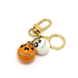 Louis Vuitton Portocre Jack And Lucy Keychain M65377 Halloween Limited Multi