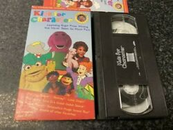 KIDS FOR CHARACTER VHS VIDEO BOOKLET INCLUDED FREE SHIPPING TOM SELLECK $23.98
