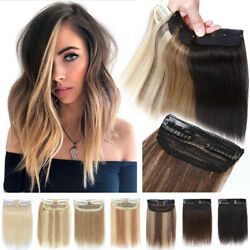 Us Clearance Human Remy Hair Hairpads Clip In Side Patch Topper Hairpiece 4-12