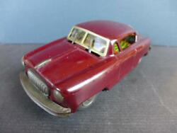 Period 50 Tin Car Buick Friction-linked Wiper Made In Japan