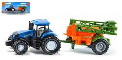 Model Crew Agricultural Siku Tractor New Holland Bars Sprayers 187