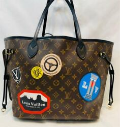 Louis Vuitton Neverfull Mm World Tour Monogram Tote Bag 2016 Limited New Unused