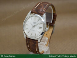 Tudor Watch Vintage Decabara Oyster Date Manual Winding Silver Dial Menand039s