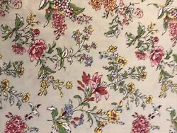 """French Provence Les Olivades Elegant Floral Cotton """"lilas' Made In France"""