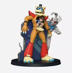 Five Nights At Freddy's Security Breach Freddy And Gregory Collectible Statue