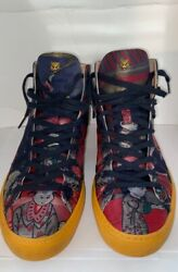 Disneyandrsquos Donald Duck Jacquard Hi-top Sneakers Limited Edition Discontinued