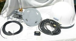 Winegard Carryout Gm-1518 Rv Satellite Antenna Dome Mount Base Cable Signal Ind