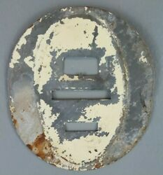 Vintage Oval Speedometer Odometer Gauge Backplate 1920and039s Ford Model A Rat Rod