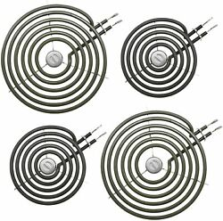 For Ge Whirlpool Electric Range Burner Element Kit 2 Pack Wb30m1and 2 Pack Wb30m2