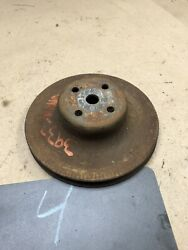 1970 72 79 81 1978 Chevrolet 350 400 454 Water Pump Pulley Sheave Single Groove