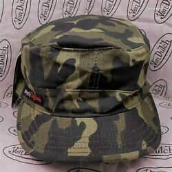 Von Dutch Fitted Army Cadet Military Cap Hat Patrol Combat Hunting Camouflauge