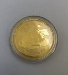 Australian Lunar Series Year Of Ox 1 Oz Gold Coin 2009