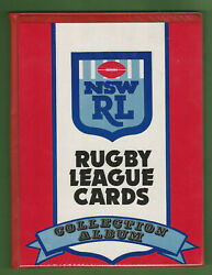 T24. Set210 Of 1991 Rugby League Card In Folder Plus Wrapper