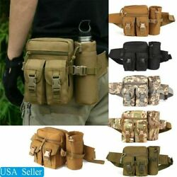 Outdoor Utility Tactical Waist Fanny Pack Pouch Military Camping Hiking Belt Bag $13.97