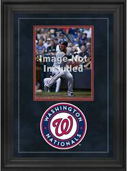 Washington Nationals Deluxe 8 X 10 Vertical Photograph Frame With Team Logo