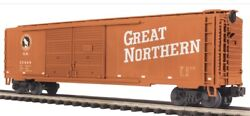 ✅mth Premier Great Northern 50' Double Door Box Car 20-93184 O Scale Train
