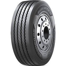 4 New Hankook Smart Flex Th31 255/70r22.5 Load H 16 Ply Trailer Commercial Tires