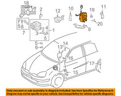Toyota Oem 01-03 Prius Abs Anti-lock Brake System-power Brake Booster 4707147010