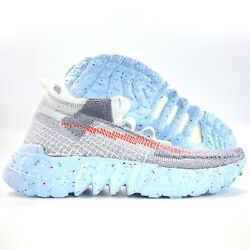 Nike Space Hippie 02 This Is Trash Grey Blue Crimson Red Cq3988-001 Menandrsquos 8