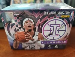 2019-20 Illusions Basketball Blaster - Zion Williamson Ja Morant Rc Rookie Year