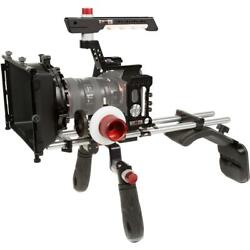 Shape Cage With Shoulder Pad, Follow Focus Friction Gear Clic, 4x4 Matte Box