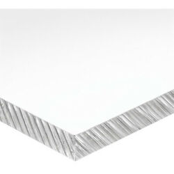 Zoro Select 1nlg9 Clear Polycarbonate Sheet Stock 96 L X 48 W X 0.236 Thick