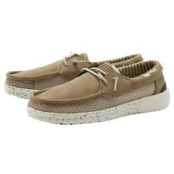 Menand039s Hey Dude Welsh Grip - Beige - Best Seller Free Shipping