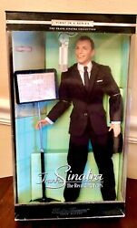 Mattel Timeless Treasures Frank Sinatra The Recording Years Doll In Box