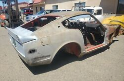 1974 Datsun Early 260z Body Tub Stripped Bare-build It Or Go Back To Stock- Nice