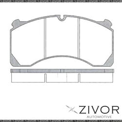 Protex Brake Pads - Front For Kenworth T358r . 2d Truck 6x4 2008-2011 By Zivor