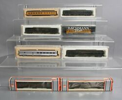 Con-cor, Model Power And Bachmann N Scale Assorted Passenger Cars [8]/box