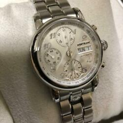 Menand039s Watch Automatic Chronograph Star 5222 Mint Condition Boxed